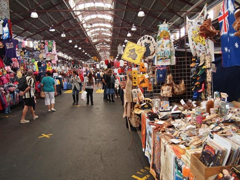 Chợ Queen Victoria nằm ở trung tâm thành phố