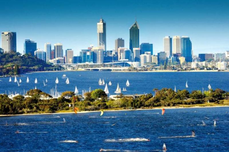 Thành phố Perth là nơi có rất  nhiều trường tại  Úc