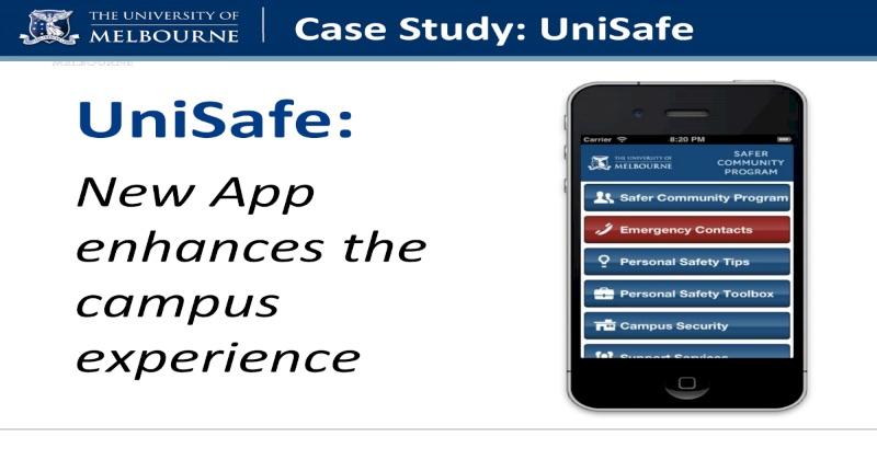 Ứng dụng UniSafe cung cấp các đường link trực tiếp, cho phép bạn kết nối nhanh chóng tới các dịch vụ hỗ trợ của nhà trường