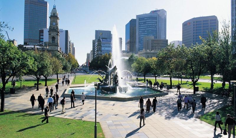 Adelaide là thủ đô an toàn nhất của Úc
