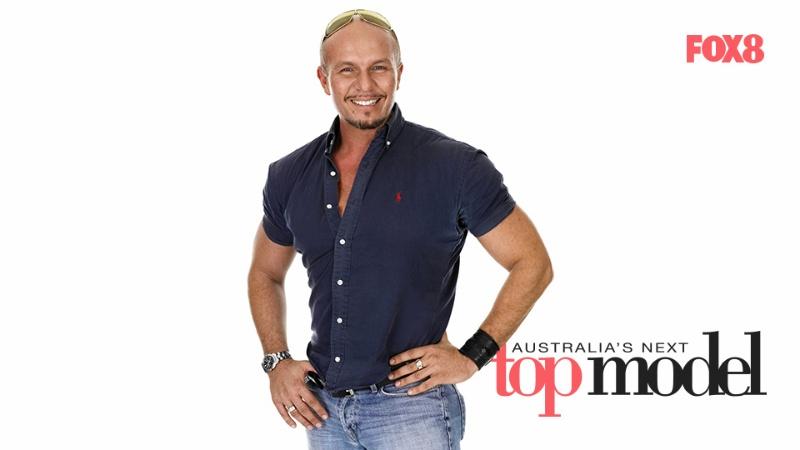 Alex Perry - nam giám khảo chương trình Australia's Next Top Model.