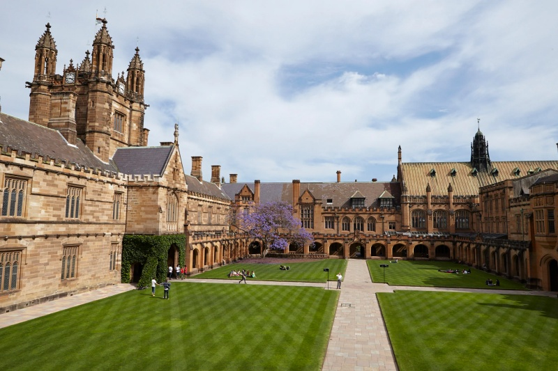 Đại học Sydney vững gót ở vị trí 35 trong top bảng xếp hạng đại học QS