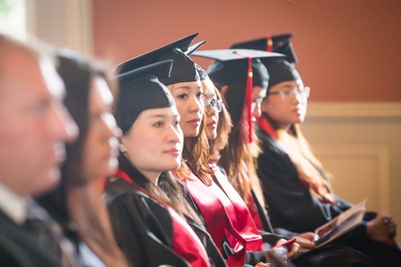 Sau khi hoàn thành chương trình theo quy định, sinh viên có thể đăng ký làm việc hoặc học tiếp lên