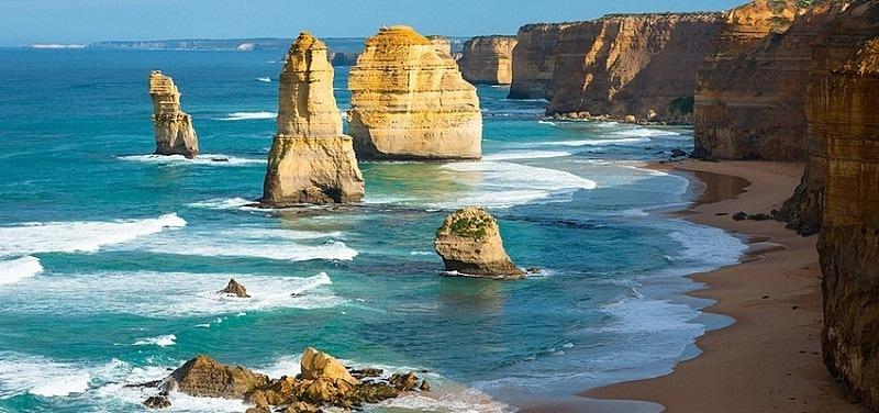 Cái bạn được hưởng nhiều nhất là bạn nhận được khi chọn Úc làm nơi du học chính là vô tư tắm biển