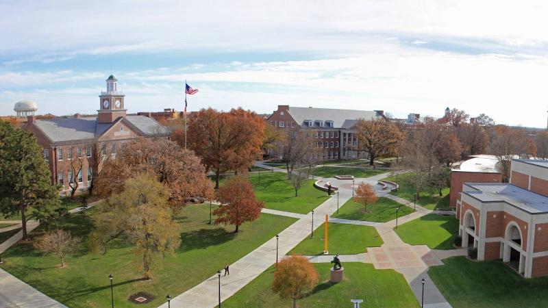 SIBT nằm trong khu học xá của WSU