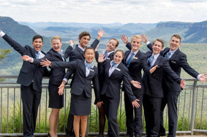 Sau đó sang Úc mình chọn ngành hospitality của Blue Mountains International Hotel Management School