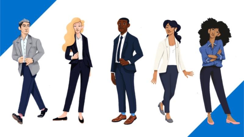 Trong buổi phỏng vấn tất cả các ngành nghề, bạn cần tự tin và ăn mặc một cách năng động, lịch lãm, chuyên nghiệp