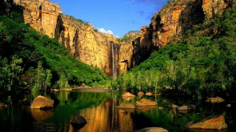 Công viên quốc gia Kakadu có dải đất rộng lớn với vẻ đẹp tự nhiên trù phú và nền văn hóa cực kì độc đáo.