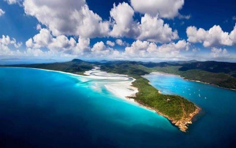 Vẻ đẹp tự nhiên của hòn đảo Whitsunday đẹp như trong chuyện cổ tích