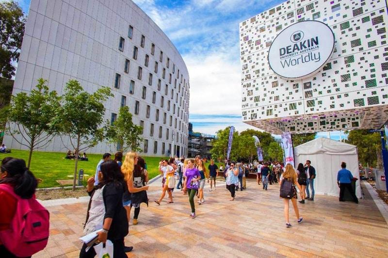 Trường đại học Deakin College (DC) nằm tại Victoria, Úc